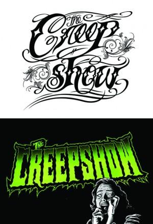 The Creepshow logos