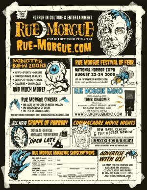 Rue Morgue shirt design