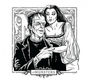 M for The Munsters