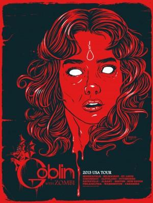 Goblin 2013 Tour Poster