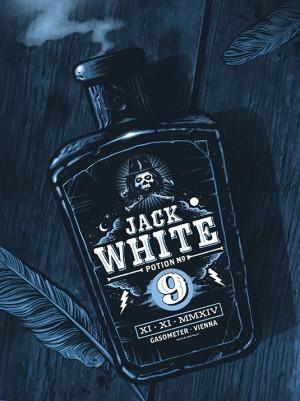 Jack White Gig Poster